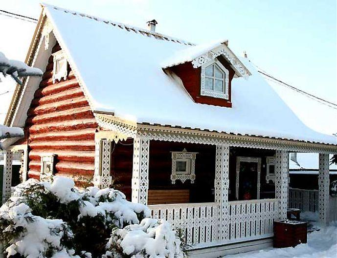 Отделка фасада деревянного дома своими руками 949