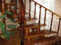 Изготовление деревянных лестниц самостоятельно чертежи