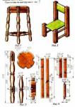 Сделай сам из дерева стул