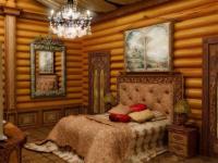 Дизайн деревянных комнат