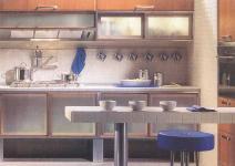 Кухни с барной стойкой фотогалерея