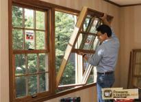 Чертеж деревянного окна