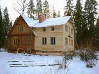 Делаем пристройку к деревянному дому