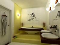 Дизайн укладки плитки в ванной комнате
