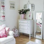 Спальня розовая
