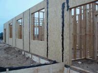 Структура стены каркасного дома