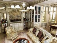 Интерьер гостинной совмещенной с кухней фото