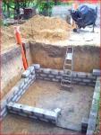 Стены погреба