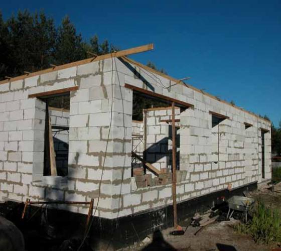 Построить дом из пеноблоков своими руками рассчитать стоимость 39