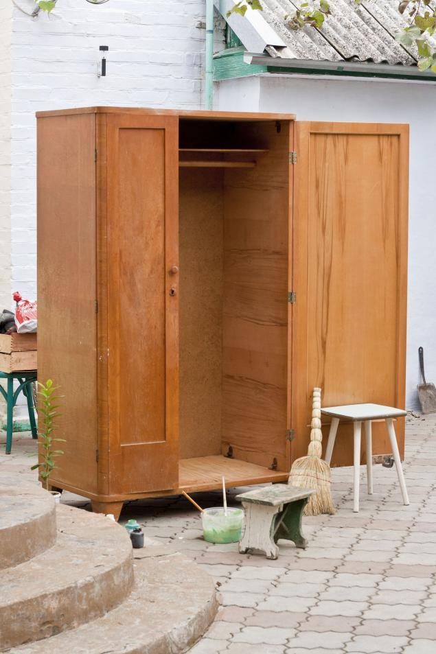 Реставрация старого шкафа своими руками фото