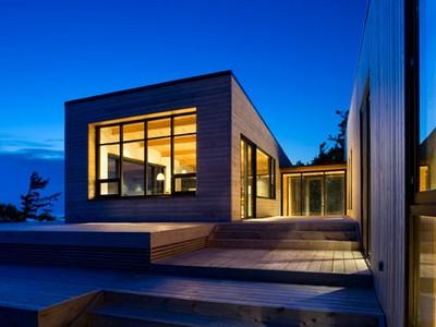 Внутренний дизайн дома из бревен