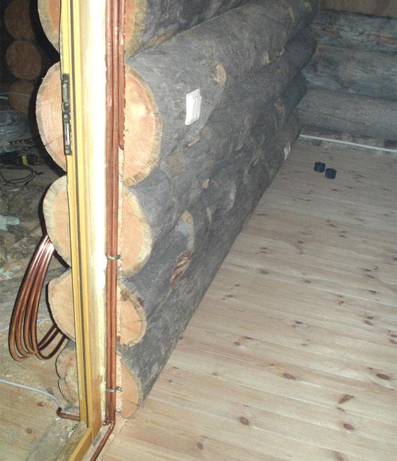 Схема электропроводки в деревянном