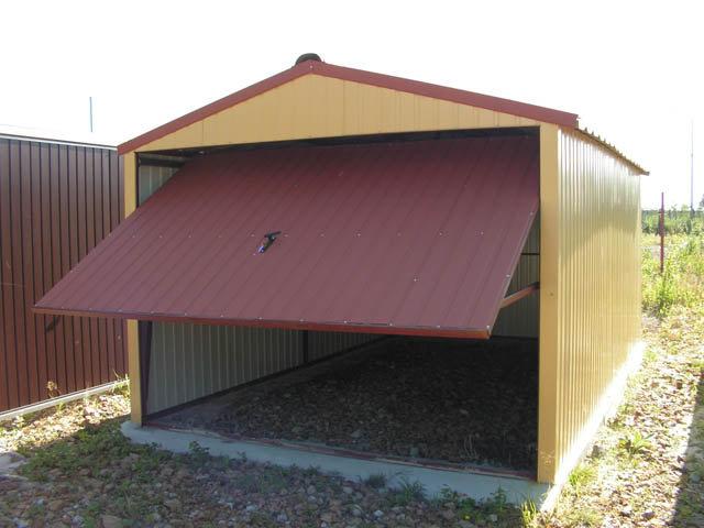 металлического гаража