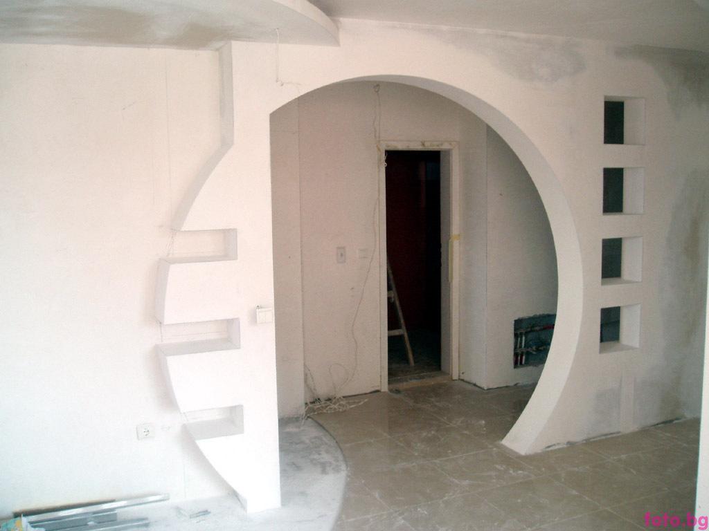 Дизайн стен и потолков фото