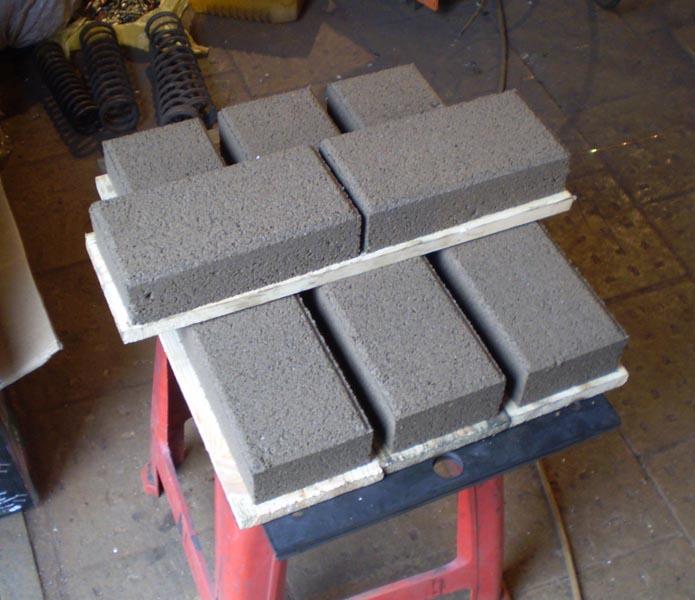 Матрица для производства блоков и тротуарной
