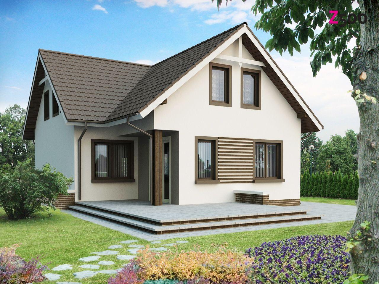 проект деревянного дома 8х8 - Фото галерея проектов