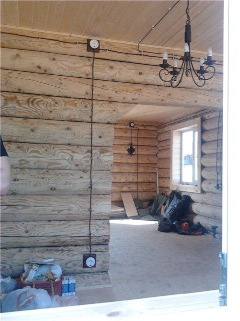 Наружная электропроводка в деревянном доме 192