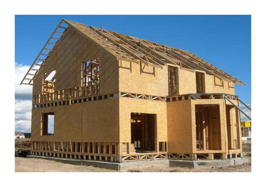 Каркасный дом своими руками строил один 415