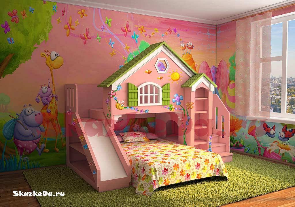 Дизайн комнаты для кукол