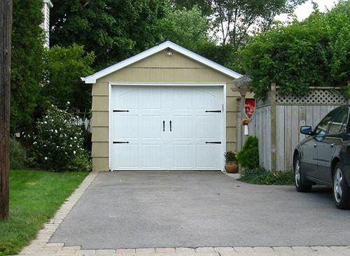 Распашные ворота на гараж своими руками чертежи