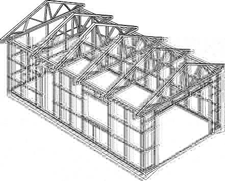 Из чего построить авто гараж