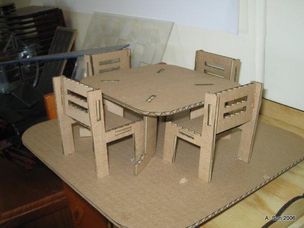 Стол из картона своими руками мастер класс