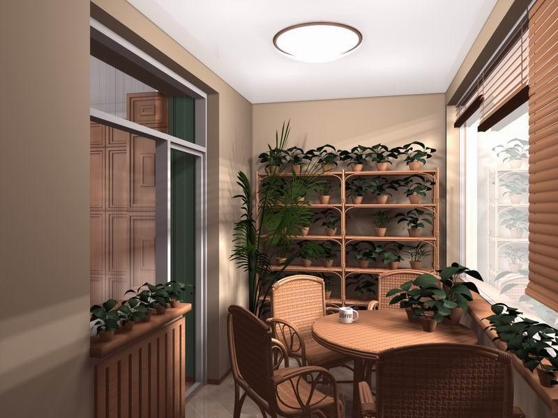 Смотреть дизайн балконов.