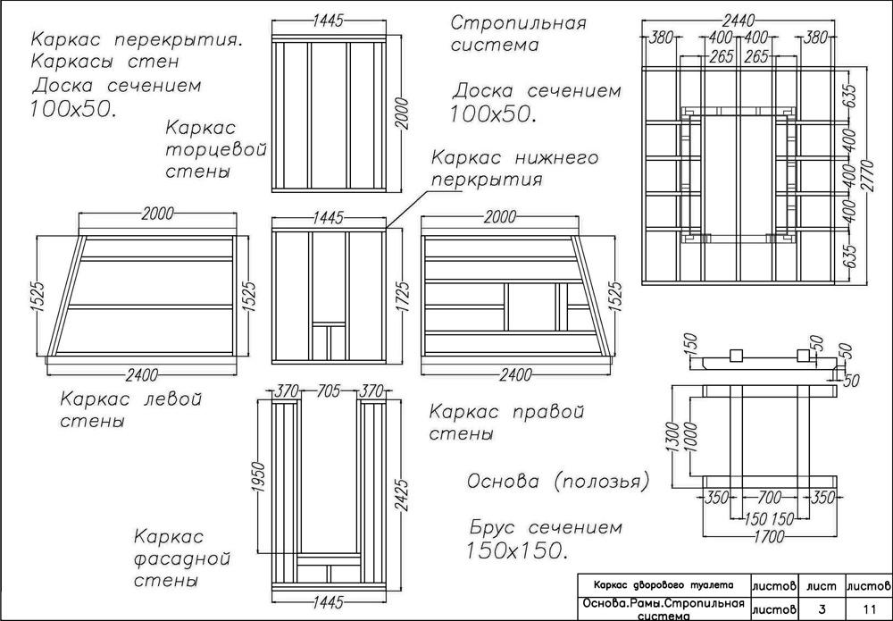 построить дачный туалет?